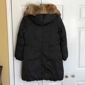 Elie Tahari Jackets & Coats - Elie Tahari- down puffer cost with real fur trim